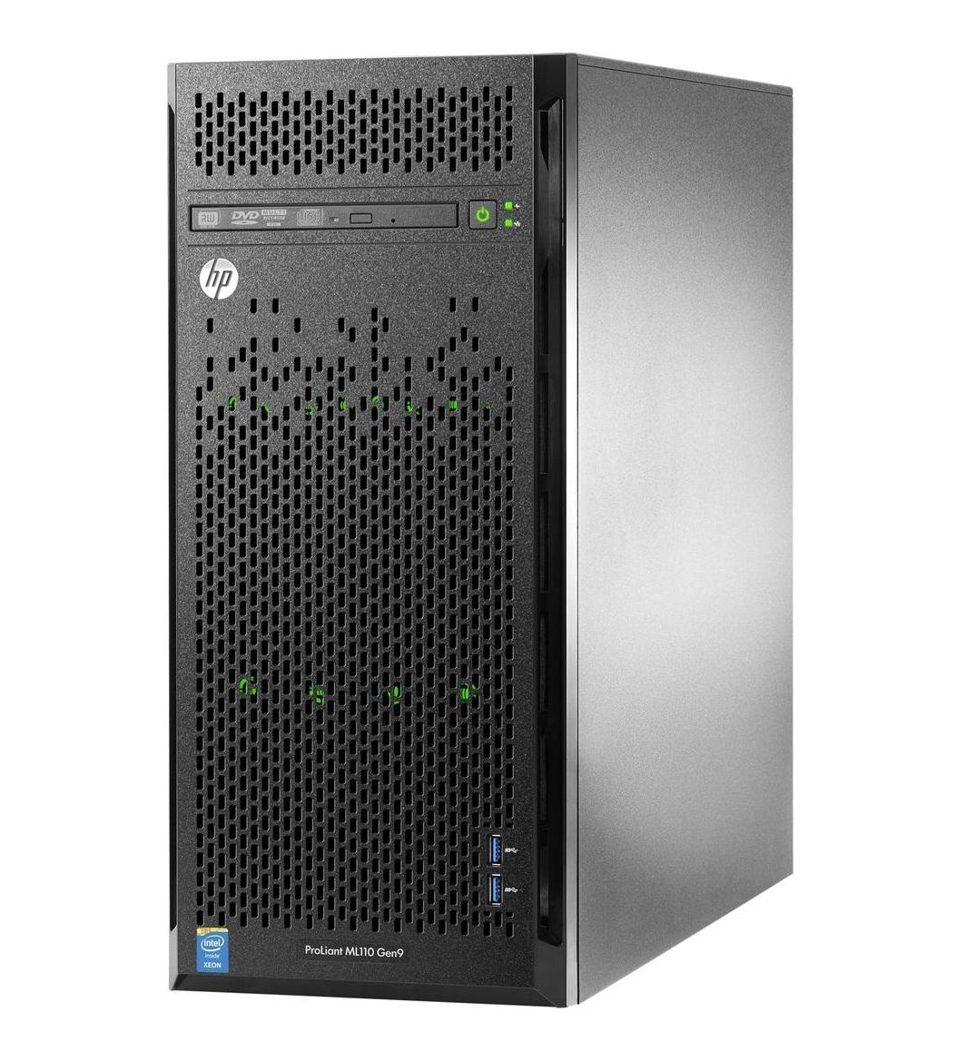 Сервер HP ProLiant ML150 Gen9 NHP Tower(5U)/Xeon6C 1.6GHz(15Mb)/1x4GbR