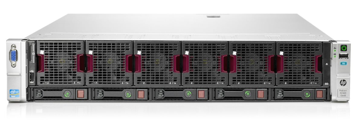 Сервер HP Proliant DL560 Gen8 Rack (2U) 732342-421