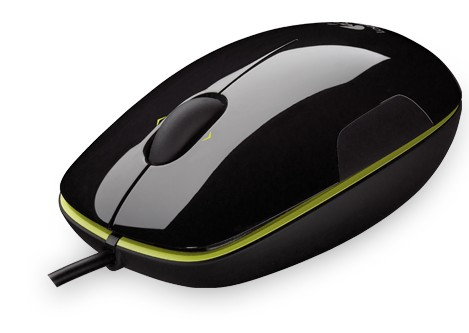 Мышь проводная Logitech Laser Mouse M150, Grape-Acid Flash