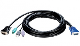 D-Link DKVM-IPCB5, All in one SPHD KVM Cable in 5m (15ft) for DKVM-IP1/IP8 devices