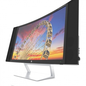 "Монитор HP TFT S270c 27"" Curved Monitor"