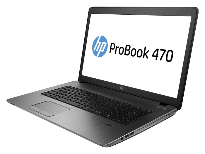 "Ноутбук HP Probook 470 17.3"" Core i5-5200U 2.2GHz, 8GB DDR3, 1TB, ATI.R5 M255 2Gb, Win7Pro(64)+Win8.1Pro(64)"