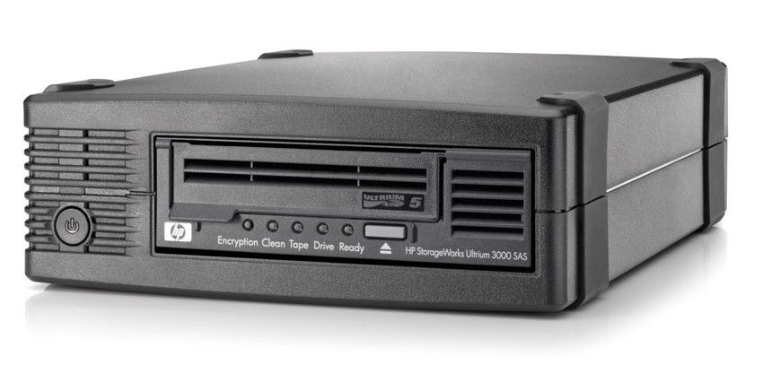 Стример HP Ultrium 3000 SAS Tape Drive, Ext. (EH958B)