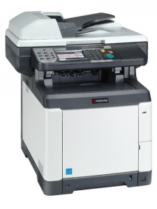 МФУ Kyocera ECOSYS M6526CIDN (А4, 26 ppm, 600 dpi, 1024 Mb, USB 2.0, Network, touch panel, дуплекс, автоподатчик, пусковой комплект)