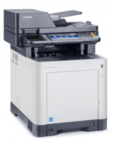 МФУ Kyocera ECOSYS M6535CIDN (А4, 35 ppm, 600 dpi, 1024 Mb, USB 2.0, Network, touch panel, дуплекс, автоподатчик, пусковой комплект)
