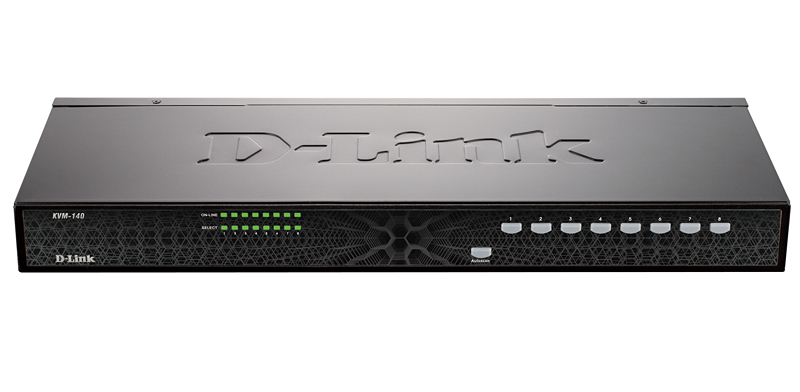 D-Link KVM-140/A1A, 8-Port PS/2 KVM Switch