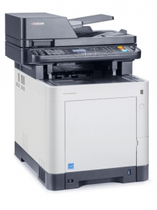 МФУ Kyocera ECOSYS M6530CDN (А4, 30 ppm, 600 dpi, 1024 Mb, USB 2.0, Network, дуплекс, автоподатчик, пусковой комплект)
