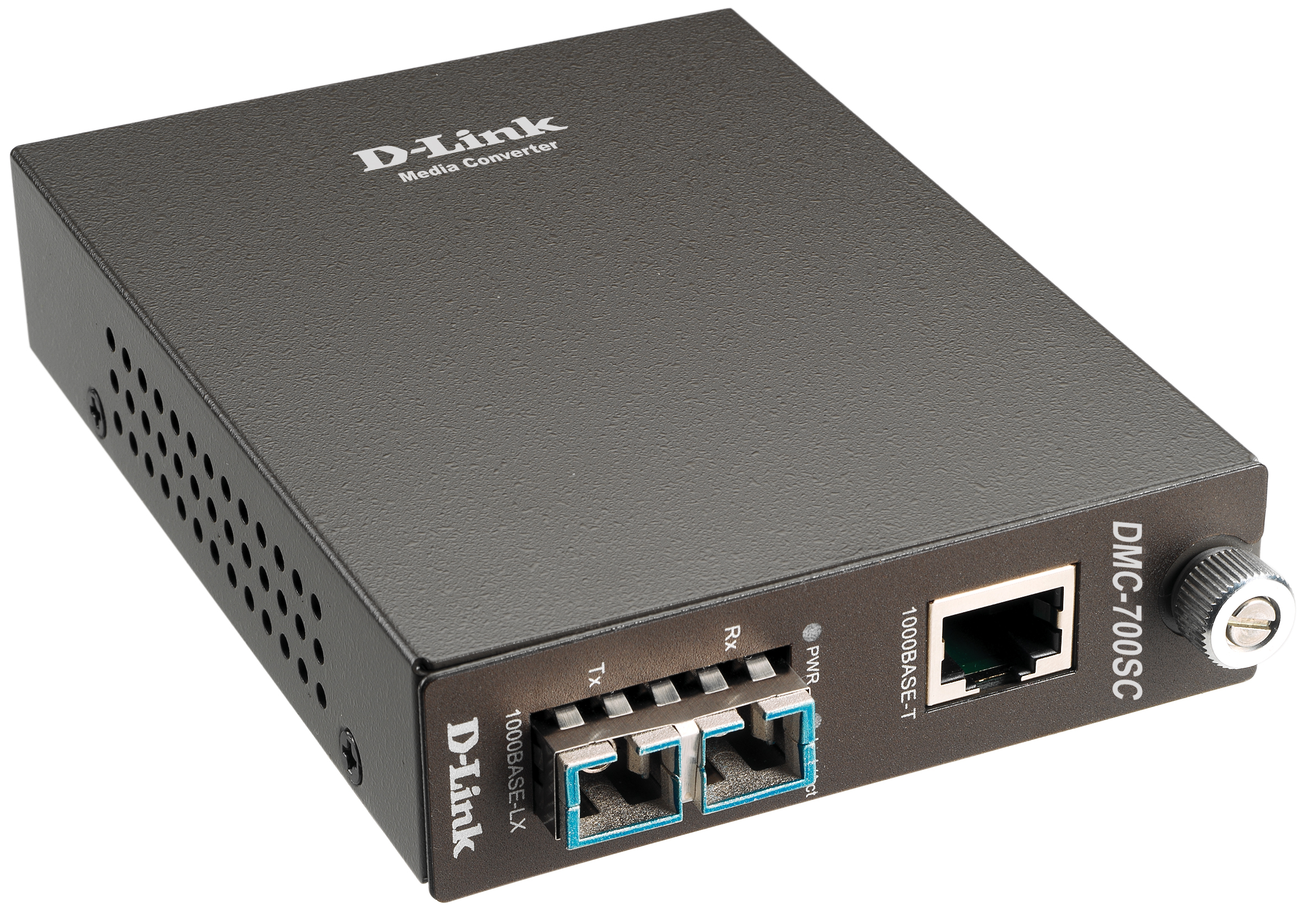 D-Link DMC-515SC/D6B, Fast Ethernet Twisted-pair to Fast Ethernet Single-mode Fiber (15km, SC) Media Converter Module