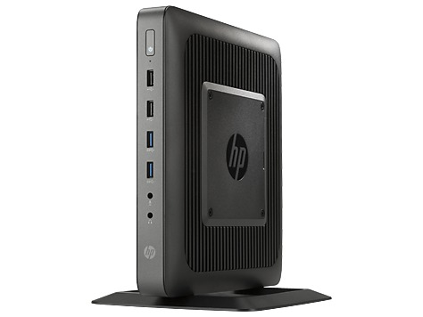Тонкий клиент HP t620 Dual Core, WinEmbedded 8 Standard 64-bit OS, HP VGA Adapter, 4GB