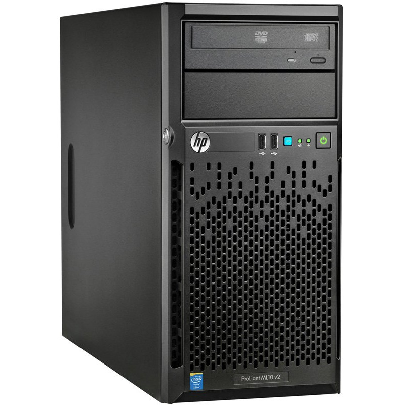 Сервер HP ProLiant ML10 v2 G3240 NHP Tower (4U) 814483-421