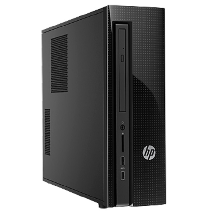 Компьютер HP 450 Slimline,Celeron-J1800,2Gb, 500Gb, FreeDOS, black