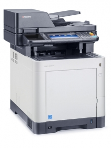 МФУ Kyocera ECOSYS M6035CIDN (А4, 35 ppm, 600 dpi, 1024 Mb, USB 2.0, Network,touch panel, дуплекс, автоподатчик, пусковой комплект)