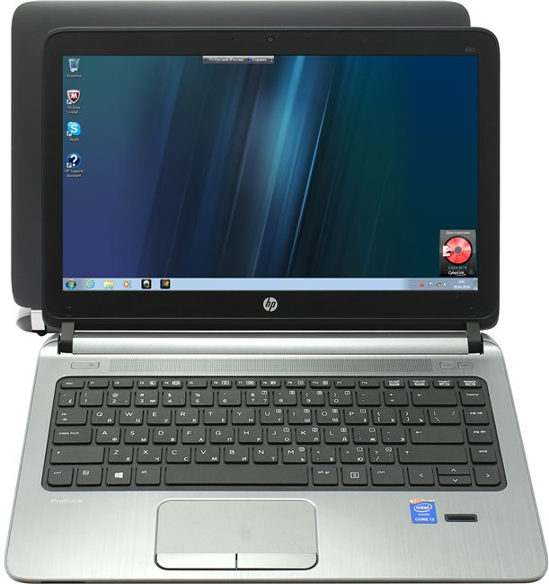 "Ноутбук HP Probook 430 13.3"", 2.2GHz,4GB, 500GB,Win7Pro(64)+Win8.1Pro(64)"