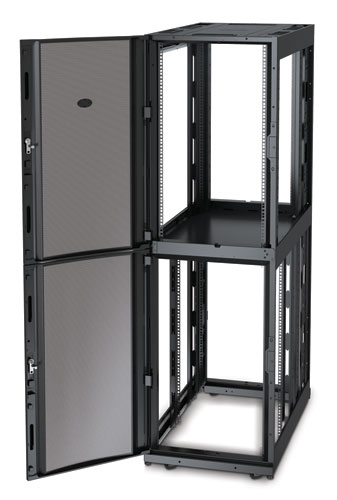 Шкаф APC NetShelter SX Colocation 2 x 20U 600x1070mm Deep Enclosure with Sides Black