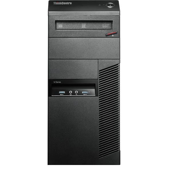 Компьютер Lenovo ThinkCentre M83 TWR I5 4460 4Gb 500GB Intel HD Win7Pro64+Win8.1Pro64