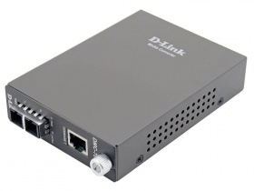 D-Link DMC-700SC/B8A, 1000Base-T Gigabit Twisted-pair to 1000Base-SX Gigabit Fiber Multi-mode Fiber (550m, SC) Media Converter Module