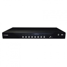 D-Link DKVM-IP8/T1B, 8 Port KVM over IP SWITCH Rackmount