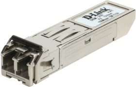 D-Link DEM-211/10/C1A, 100BASE-FX Multi-Mode 2KM SFP Transceiver, support 3.3V power, Duplex LC connector (10 pcs bundle)