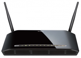 D-Link DIR-632, Wireless Router with 8-ports 10/100 Base-TX switch and USB Printer Port