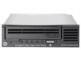 Стример HP Ultrium6250 SAS Tape Drive,1U Rack-mount. (C0L99A)